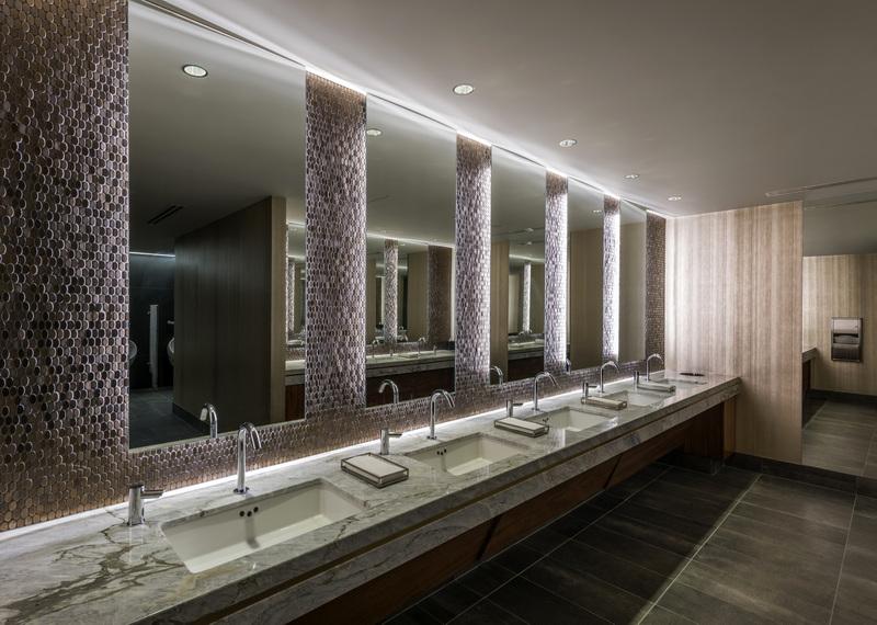 Statler Hotel Restroom